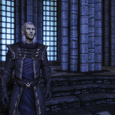 Ancano in the Hall of Elements, College of WInterhold